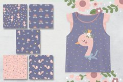 Baby Swan Clipart Patterns Product Image 5