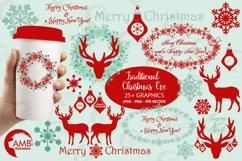 Reindeer clipart, invitation embellishments, graphics, illustrations AMB-1117 Product Image 1