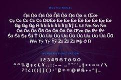 Vinnson - Modern Sans Serif Font Product Image 3