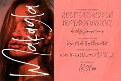 Web Font Makayla - Handwritten Font Product Image 5