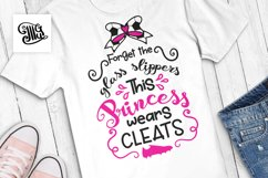 Forget the glass slippers... This princess wears cleats Product Image 1
