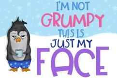Grumpy Penguin Product Image 2