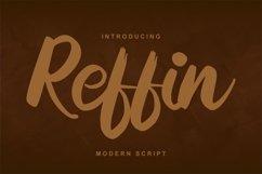 Reffin | Modern Script Font Product Image 1