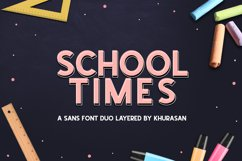 School Times Product Image 1