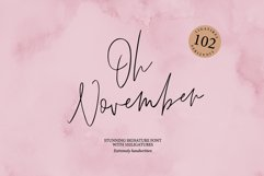 OH NOVEMBER SCRIPT Product Image 1