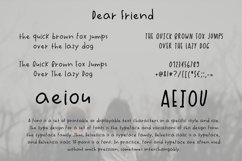 Dear Friend Hand Drawn Font Product Image 2
