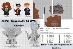 Mini bottle cross stitch pattern PDF, Mason jar Xstitch fox Product Image 6