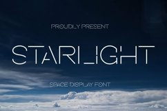 Starlight Font Product Image 1