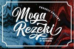 Moga Rezeki   Duo Font With Extra Swash Product Image 2