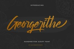 Georgerithe Product Image 1
