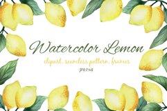 Watercolor Lemon Product Image 1