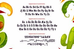 Web Font Bulgan Display Font Product Image 4