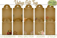 Vintage Gift Tags Product Image 1