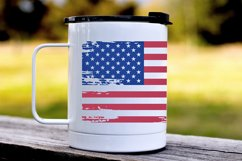 American flag distressed. 4th of July SVG. Independence Day. Product Image 3