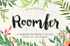 Roomfer font + Style Photoshop Product Image 1