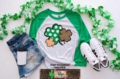 St Patrick's Day Shamrock 4 leaf clover Dye Sublimation PNG Product Image 2