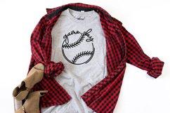 Game Day Baseball Shirt SVG Product Image 1