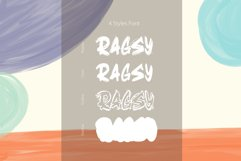 Ragsy   Cartoon layered font Product Image 3