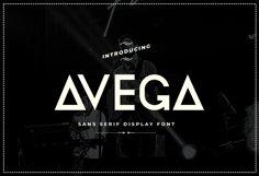 Avega Font Product Image 1