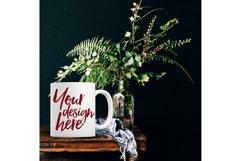 Winter mug mock-up bundle - 8 jpeg mockups Product Image 5