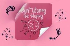 Web Font Faustina - Swirly Children Font Product Image 3