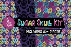 Day of the Dead Sugar Skulls Product Image 1