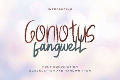 Gonlotus Fangwell Product Image 1