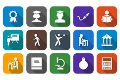 Set Of Education and Learning Icons Product Image 1