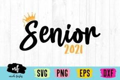 Senior 2021 SVG Cut File Product Image 1