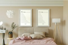 Morning & Evening Affirmations Print Frame not included Product Image 3