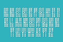 Diamanda Stacked - Retro Font Product Image 5