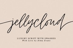 JellyCloud / Font with Swashes Product Image 1