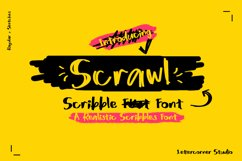 Scrawl | Scribble Font Product Image 2