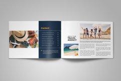 Holiday Travel Brochure Catalog Design v4 Product Image 6
