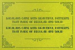 Bacalaos - Decorative Typeface Product Image 6
