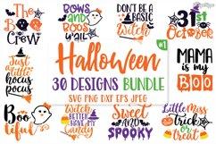 Halloween SVG Bundle, Sayings, Kids, Boys, Girls, Cut Files Product Image 1