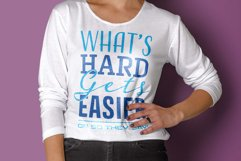 Whats Hard Gets Easier Product Image 4