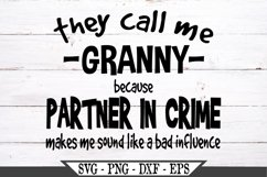 They Call Me Granny SVG Product Image 2