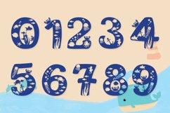 Beach Font | Summer Font - Squishy Font & Bonus Extras Product Image 3