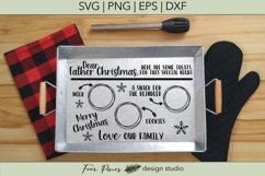 Dear Father Christmas Cookie and Treat Tray Product Image 2