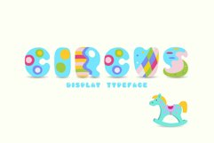 Circus, display uppercase typeface Product Image 1