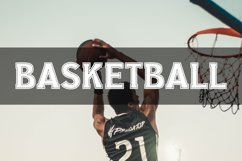 College Stitched Sport Font Product Image 4