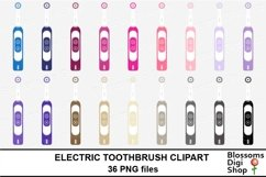 Electric Toothbrush Clipart Product Image 3
