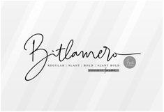 Bitlamero Script Product Image 3