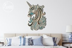 Multilayer Cut File UNICORN for Cricut or Wood Laser Cutting Product Image 5