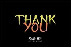 SASUKE Product Image 6