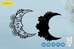 Moon svg bundle, Celestial Svg Png Pdf Eps Dxf, Moon svg Product Image 2
