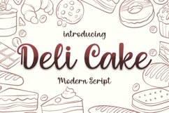 Deli Cake Product Image 1