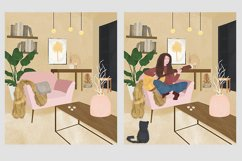 Illustration of a room interior Product Image 3