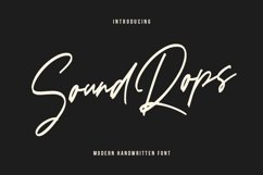 Soundrops Font Product Image 1